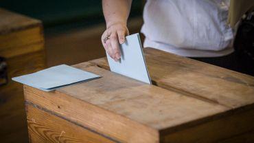 Une urne lors d'un scrutin. Image d'illustration.