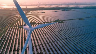 """L'énergie renouvelable a """"mieux résisté"""" à la pandémie que le nucléaire."""