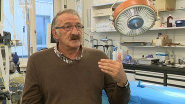 Le Professeur Pierre Gianello de l'Institut de Recherche Expérimentale UCLouvain