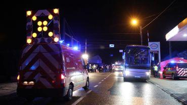 Trois morts dans un accident sur un passage à niveau à Hérinnes