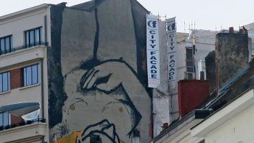 Ce n'est pas la première fresque du genre à apparaître dans Bruxelles.