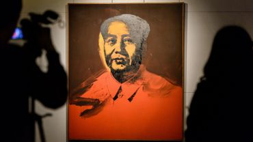 Un portrait de Mao signé Andy Warhol