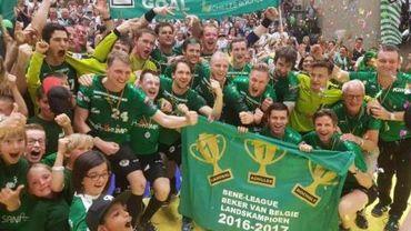 """Handball - Finale des play-offs - Vainqueur avec panache de la """"belle"""" 36-30 contre Tongres, Bocholt conserve son titre"""