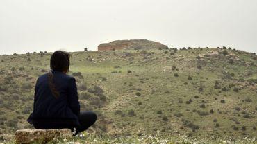 """Vieilles pour certaines de plus de 16 siècles, les djeddars de Frenda, 13 """"pyramides"""" érigées sur deux collines voisines dans le nord de l'Algérie, gardent de nombreux secrets pour les chercheurs."""