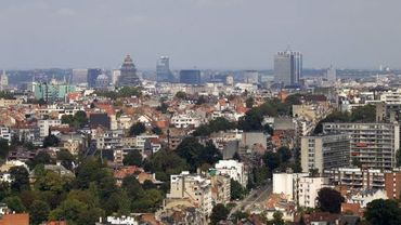 Illustration: vue aérienne de Bruxelles