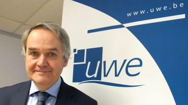 Didier Paquot, le directeur du département économique de l'Union Wallonne des Entreprises