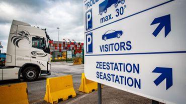 Asile et migrations: cinq migrants libérés d'un conteneur à Zeebrugge