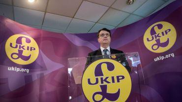 Royaume-Uni: le parti europhobe Ukip a un nouveau leader