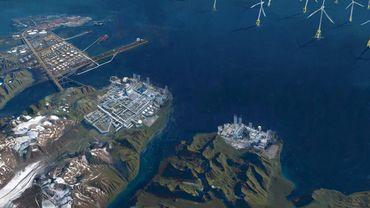 Le Groenland deviendra-t-il le nouveau Dubaï comme sur cette vision d'artiste ?