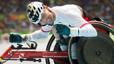 Peter Genyn médaillé d'or du 400 mètres aux Mondiaux de para-athlétisme