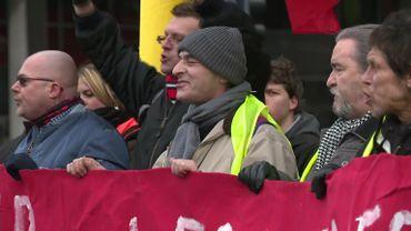 Déception chez les gilets jaunes: la mobilisation à Bruxelles en recul