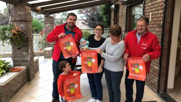 Toute la famille est fin prête pour la vente des post-it CAP 48!