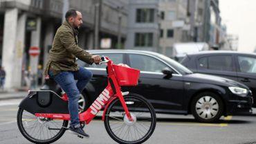 Les vélos Jump, désormais gérés par Lime, de retour dans les rues de Bruxelles ce vendredi.