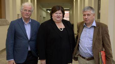 Un petit échantillon des ministres responsables de la santé en Belgique
