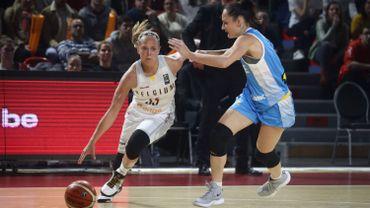 Julie Allemand, candidate au titre de meilleure jeune de la saison en WNBA