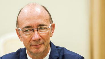 Rudy Demotte (PS), ministre-président du gouvernement de la Fédération Wallonie-Bruxelles.