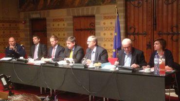 Jan Jambon rencontre les différentes autorités bruxelloises.