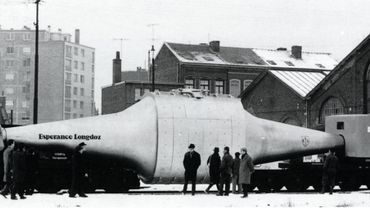 Le wagon-thermos, symbole de la sidérurgie liégeoise