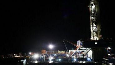 Un site de fracturation hydraulique à Springville, aux Etats-Unis, le 17 janvier 2012