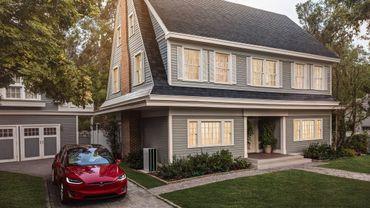 Les toits solaires de Tesla s'installent en Belgique