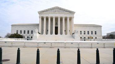 Court Suprême à Washington, en décembre 2021 (image d'illustration)