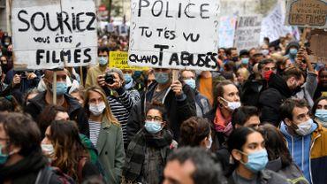 Une manifestation contre la proposition de loi française sur la sécurité globale prévue ce samedi à Bruxelles