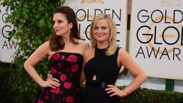 Tina Fey et Amy Poehler, les deux présentatrices des Golden Globes