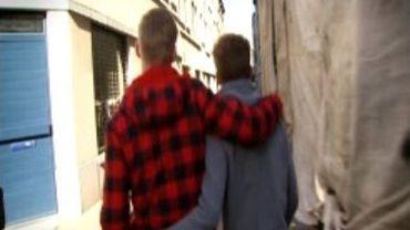 Pas facile d'afficher son homosexualité dans certains quartiers de Bruxelles