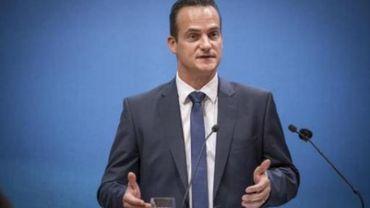 Le nouveau ministre-président germanophone, Oliver Paasch,