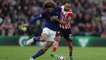 Partage sans but pour Fellaini et United face à Southampton