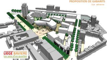 Un nouveau projet pour l'ancien site de l'hôpital de Bavière à Liège (1)
