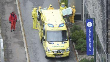 Le premier patient norvégien infecté arrive à l'hôpital universitaire Ullval d'Oslo.