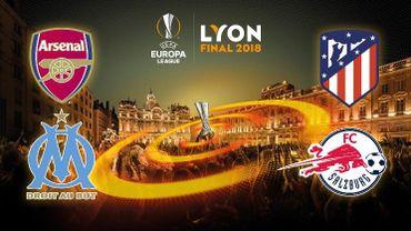 OM-Salzbourg et Arsenal-Atlético au menu des demi-finales de l'Europa League