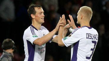 De Sutter sort Anderlecht de l'ornière
