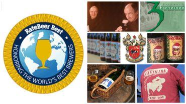 Trois brasseries belges parmi les 100 meilleures au monde selon Ratebeer