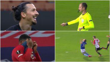 Les ratés de Zlatan, de David et de l'arbitre : florilège de penaltys en Europa League