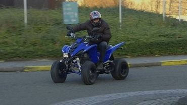 Rodéos de quads dans les rues de Fléron, les riverains sont mécontents (photo d'illustration)