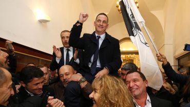 Gilles Simeoni, leader autonomiste du parti Pè a Corsica.