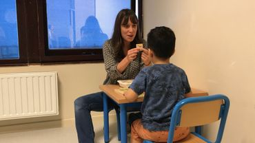 Accompagner l'autisme, une des tâches menées à l'Hôpital des Enfants Reine Fabiola