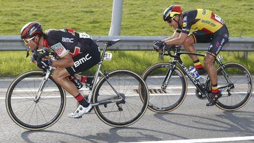 Greg Van Avermaet et Philippe Gilbert