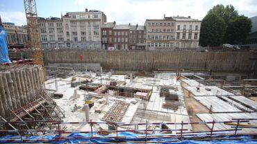Le site de Rive gauche en mai 2015