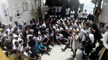 Migrants bloqués en mer - MSF demande d'assurer avant toute chose la sécurité des passagers de l'Aquarius