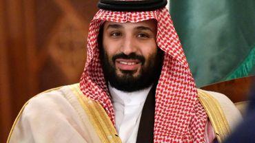 Le prince héritier saoudien Mohammed ben Salmane , le 2 décembre 2018 à Alger