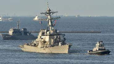 Collision maritime au Japon: certains Marines ont été retrouvés dans les cabines inondées