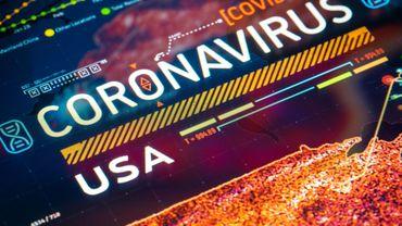 Coronavirus aux Etats-Unis: plus de 60.000 nouveaux cas enregistrés pour le 5e jour d'affilée