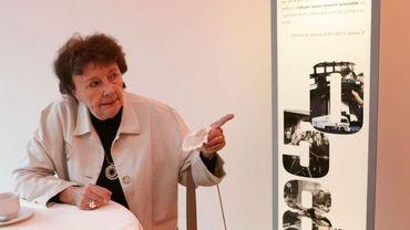 Janine Lambotte aux 50 ans du journal télévisé