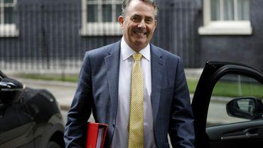 Le ministre britannique du Commerce Liam Fox, le 18 juillet 2018 à Londres