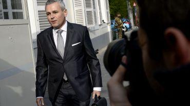 Christophe Lacroix (PS), ministre wallon du Budget.