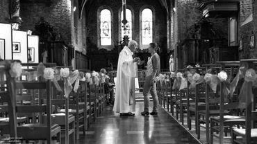 Rencontre avec Bruno Delavie au sein de l'église de Cour-sur-Heure