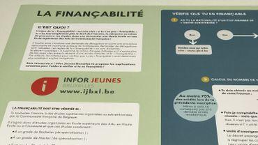 La finançabilité dans l'enseignement supérieur, un casse-tête résumé par Infor-Jeunes